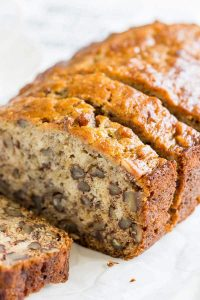 Weed Recipes: Baked Banana Bread, cannabis banana bread, marijuana banana bread, stoner banana bread