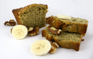 Weed Recipes: Baked Banana Bread, marijuana bread, weed bread, baked weed goods